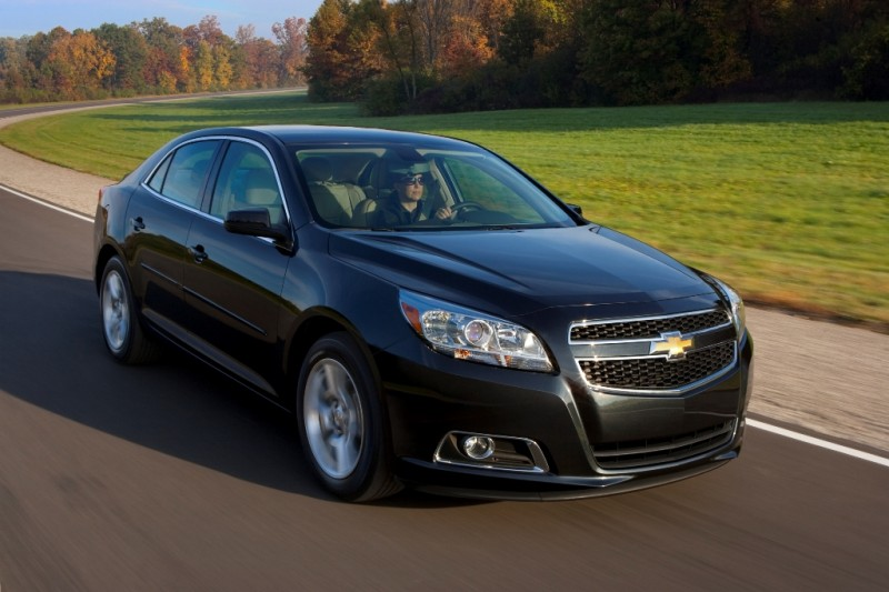 2013 Chevrolet Malibu Receives Double Safety Awards general news