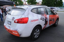 The BC Lions' Nissan Rogue