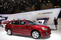 New Trax, Updated Spark, Diesel Malibu, Turbo Orlando and Cruze Wagon Star in Paris general news