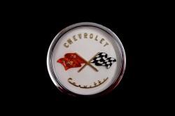 1953 Corvette Crossed Flag Logo