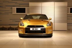 "Usain Bolt ""Goes for Gold"" with Nissan"