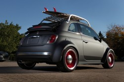 The Fiat 500 Beach Cruiser is one of 24 custom vehicles that Mopar will bring to the 2012 Specialty Equipment Market Association (SEMA) show in Las Vegas. In addition to customized vehicles, Mopar will feature more than 500 parts and accessories throughout its exhibit. This year marks the 75th anniversary of the Mopar brand.