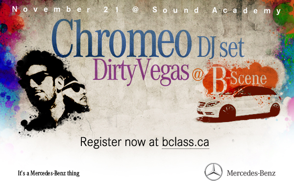 Mercedes Benz Hosting Free Concert in Toronto for B Class Launch general news