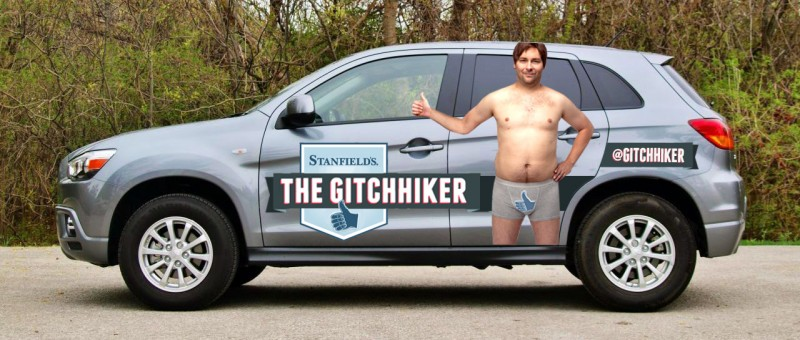 Gitchhiking Across Canada with Mitsubishi general news