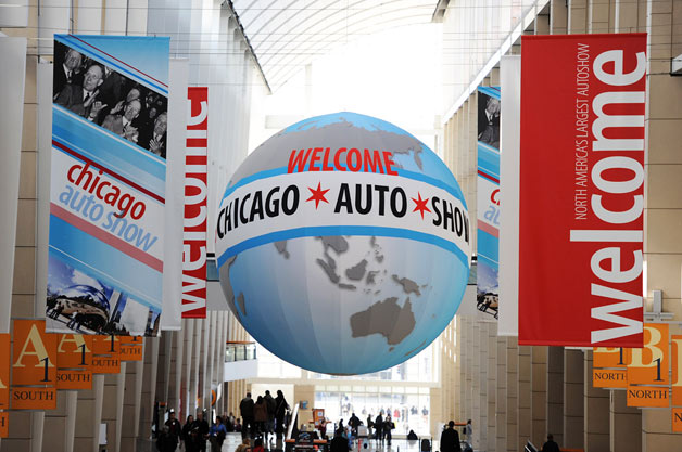 Chicago Auto Show Revamps Their Website general news