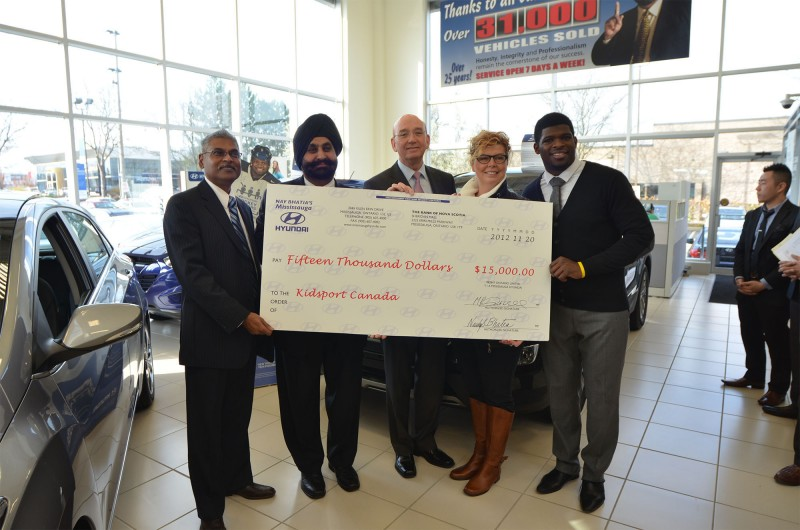 Hyundai Raises $420,000 for Kids Hockey general news