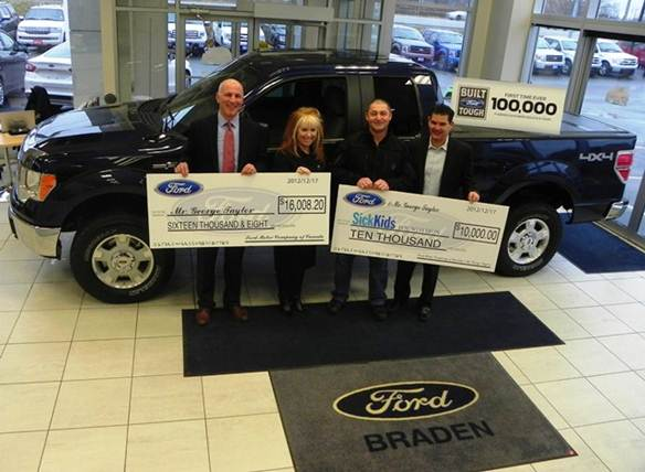 Ford Sells 100,000th F 150 in Canada general news