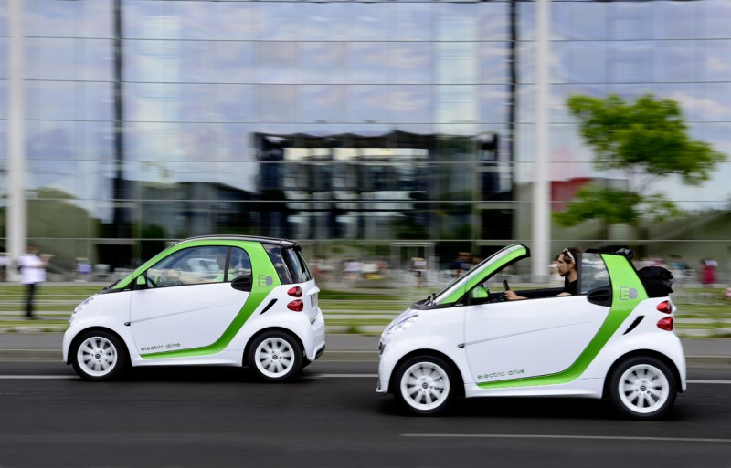 Smart Fortwo Electric Drive Priced at $26,990 general news