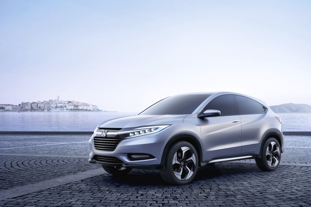 Honda Concept Previews Fit based SUV 2013 autoshows