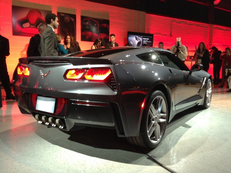 Preview: 2014 Chevrolet Corvette Stingray 2013 autoshows
