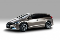 Honda Civic Tourer is the wagon we arent allowed to have 2013 autoshows