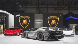 Lamborghini Veneno celebrates 50 years of madness general news car culture auto shows geneva2013 2013 autoshows