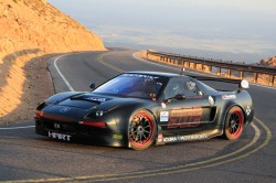 Honda's entry in last year's Pikes Peak event, the HPD NSX