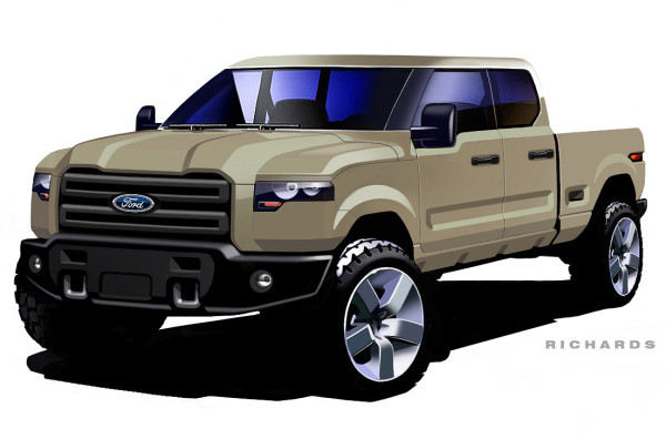 One Of These Sketches Could Have Been The Ford Atlas