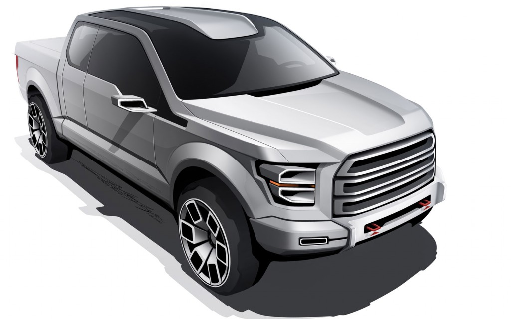 Ford Atlas windshield design concept