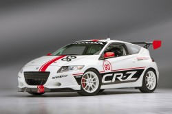 The 2013 Honda HPD CR-Z Pikes Peak entry