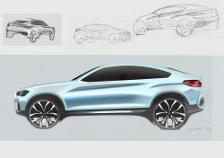 BMW X4 Design Sketch