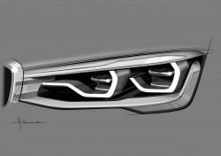 BMW X4 Design Sketch