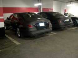 Lightly Camoed S Class Spied In Toronto Parking Garage