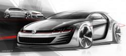 Volkswagen Studie ?Design Vision GTI?