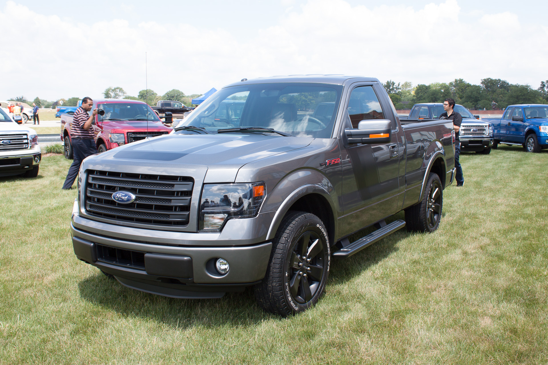 Ford Introduces F 150 Tremor During 2014 Model Preview in