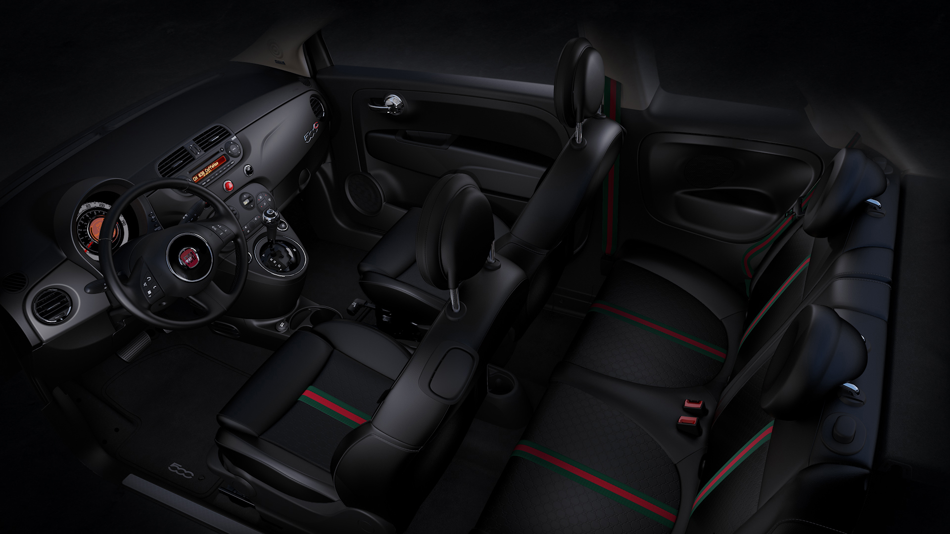 fiat 500 by gucci edition returns to canada. Black Bedroom Furniture Sets. Home Design Ideas