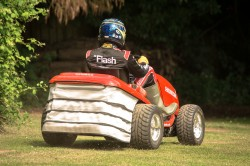 Honda UKs Mean Mower is 109 hp of Lawn Mowing Mayhem general news auto news