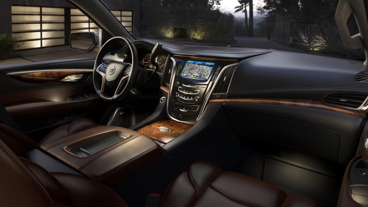 Automotive: Cadillac Unveils Their All-New 2015 Escalade @Cadillac. pixels.