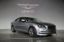 all-new Genesis at the launch event 1