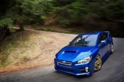 2015-Subaru-WRX-STI-front-three-quarter-static