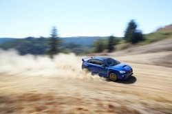 2015-Subaru-WRX-STI-side-in-motion