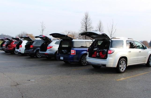 Comparison Test Mid Size Crossover Suvs Autos Ca