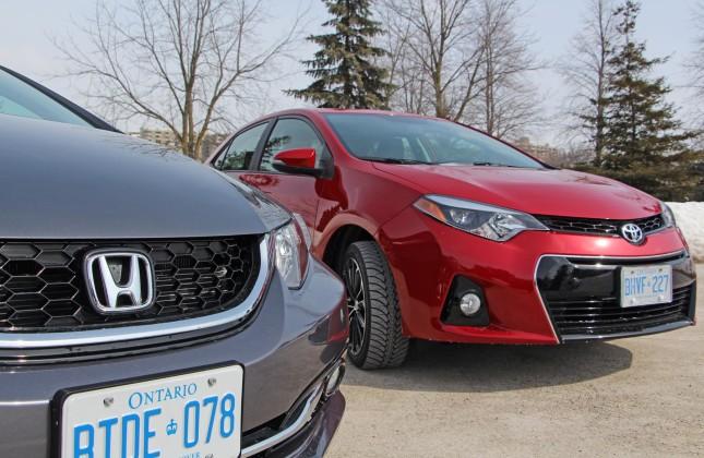 Honda Civic vs. Mazda 3 vs. Subaru Impreza vs. Toyota Corolla
