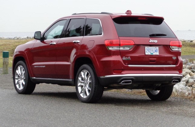 test drive 2014 jeep grand cherokee summit 4x4 ecodiesel. Black Bedroom Furniture Sets. Home Design Ideas