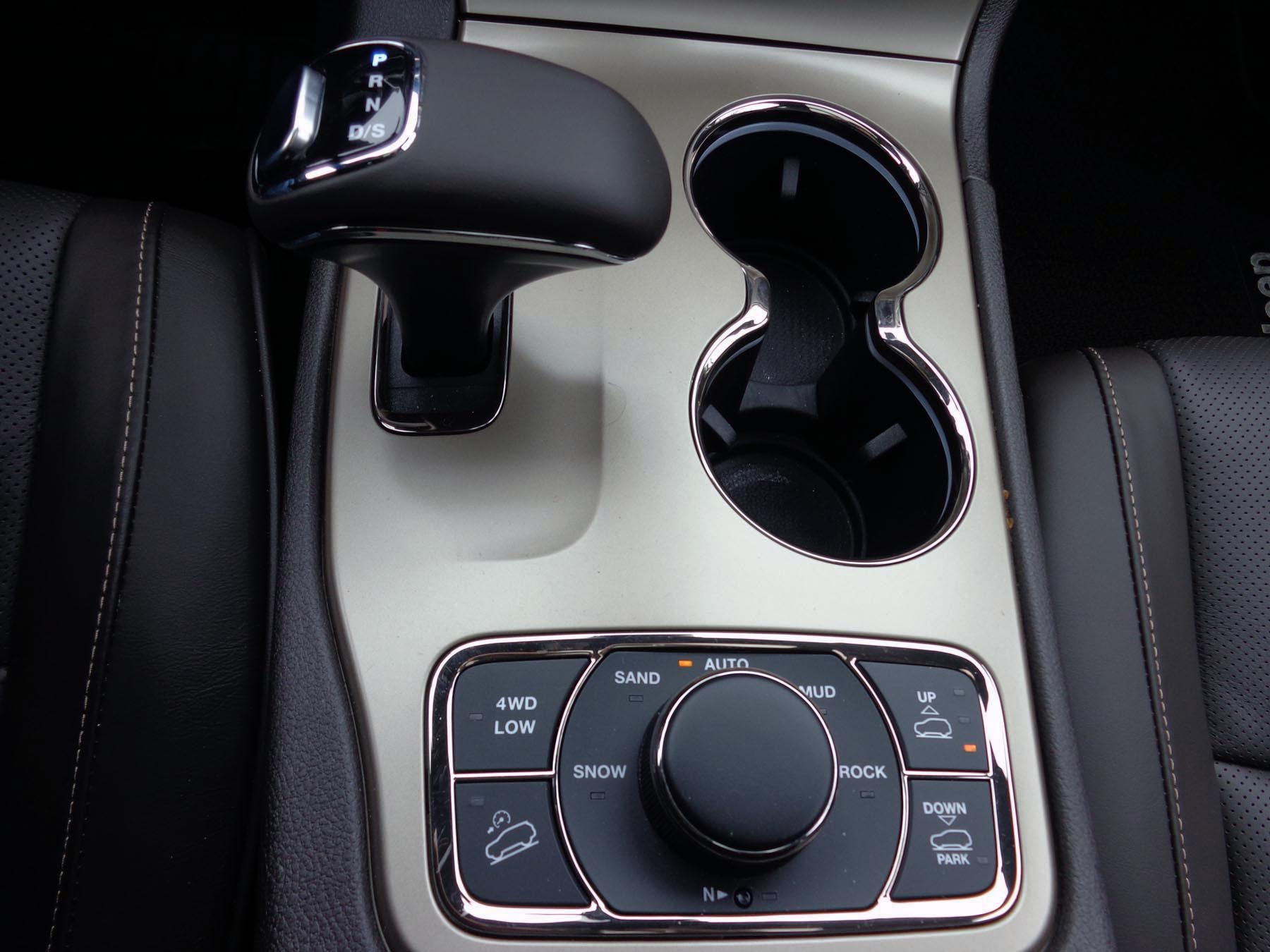 shifter console
