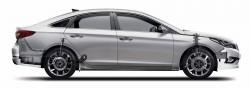 Sonata suspension and brake system