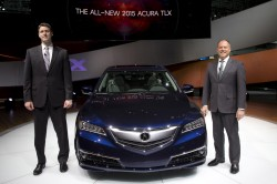 2015 Acura TLX Unveiled at NYIAS