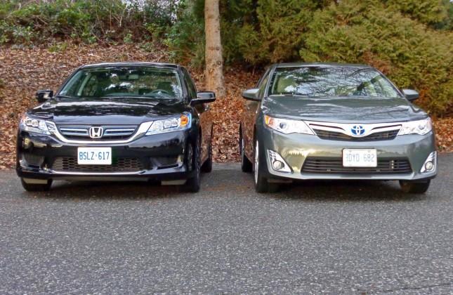 2014 Honda Accord Hybrid Vs 2014 Toyota Camry Hybrid