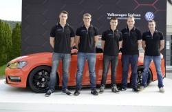 Weitere Debuets von Pilotstudien am Woerthersee 2014 Der Golf Variant Youngster 5000 aus Zwickau