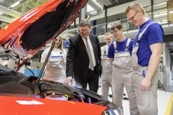 Volkswagen Golf GTI Wolfsburg Edition Shown At Worthersee auto news general news