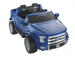 Fisher Price - Power Wheels F150 - white background