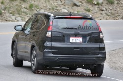 SPIED: Facelifted Honda CR V Caught Testing New Sheetmetal car previews honda general news auto articles auto news