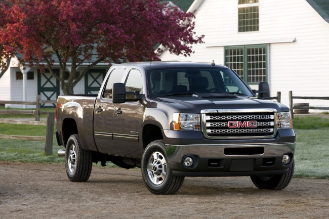 2013 GMC Sierra 2500 HD SLE