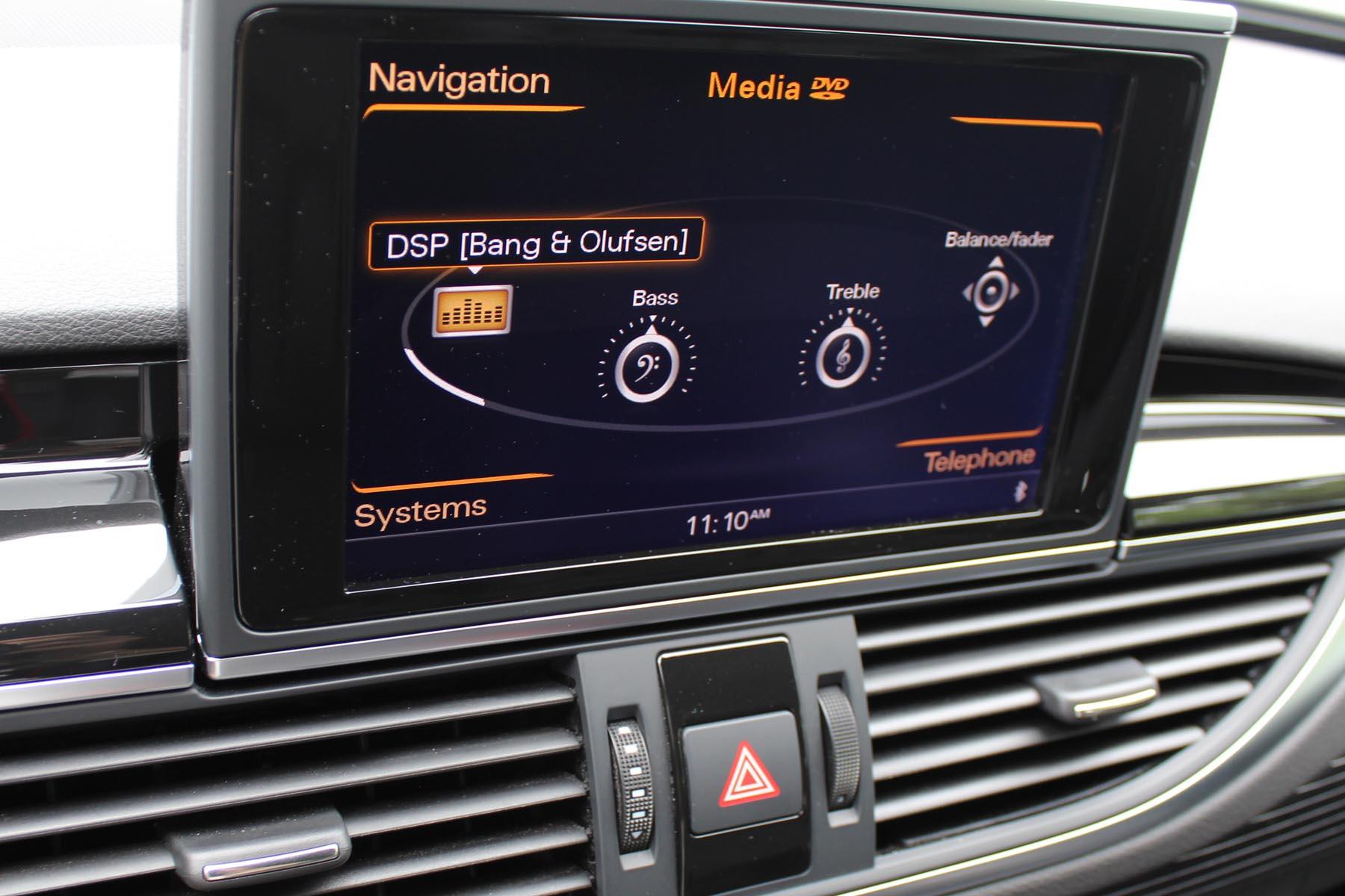 2014 Audi RS7 Bang & Olufsen audio