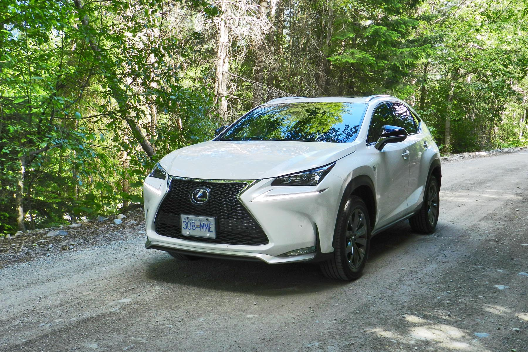 l rapha driving with lexus road created review nx reviews suv lexusnx test rearangle