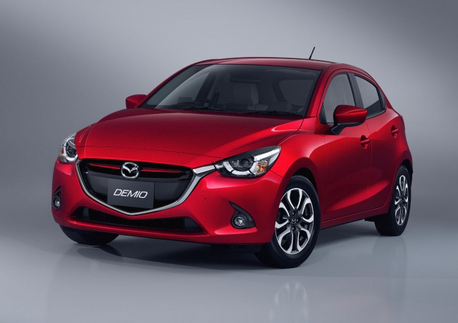 OFFICIAL: 2016 Mazda2 Breaks Cover, Starts Production In Japan general news auto news