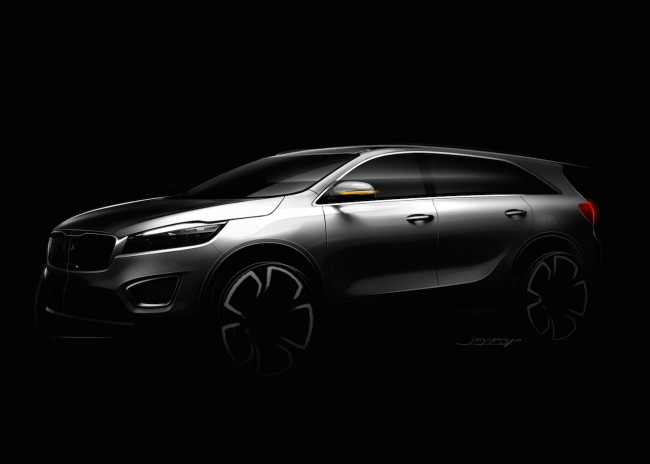 Kia Teases Third Generation Sorento Ahead Of Reveal general news auto shows auto news 2014 paris motor show