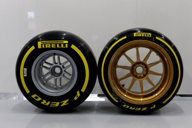 This Is What Normal Wheels Look Like On A Formula 1 Car auto news general news
