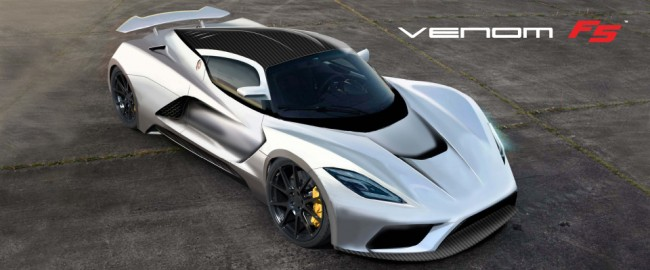 Hennessey Venom F5 To Touch Down In Texas With 290 MPH Top Speed general news auto news