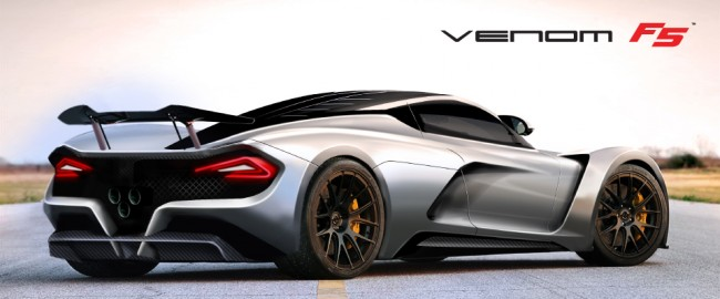 Hennessey Venom F5 To Touch Down In Texas With 290 MPH Top Speed auto news general news